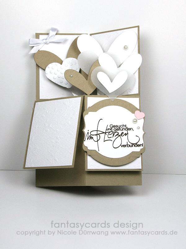 hochzeitskarte in a box nicoles kartenwerkstatt. Black Bedroom Furniture Sets. Home Design Ideas