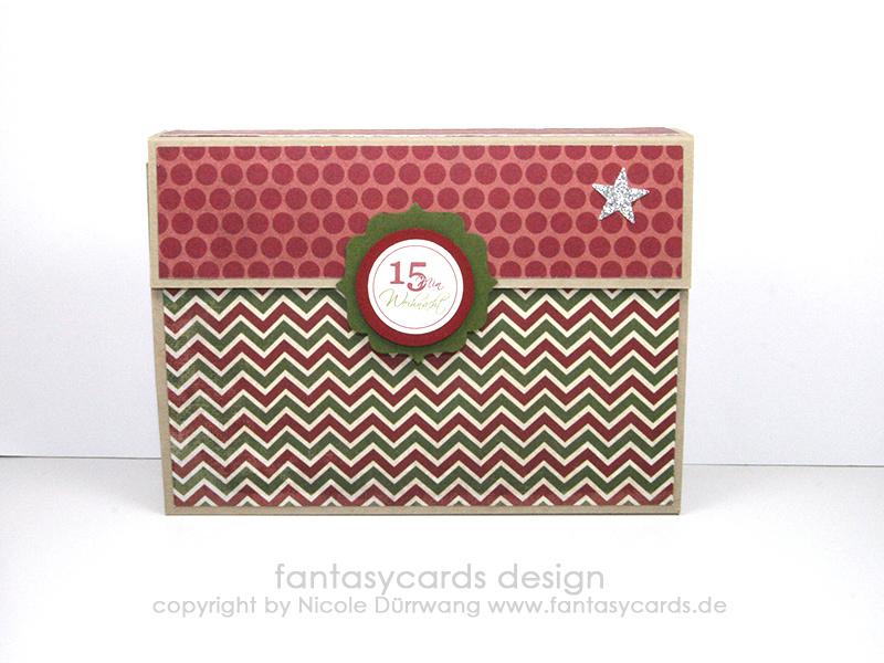 15 Minuten Weihnachten Anleitung.15 Minuten Weihnachten Nicoles Kartenwerkstatt