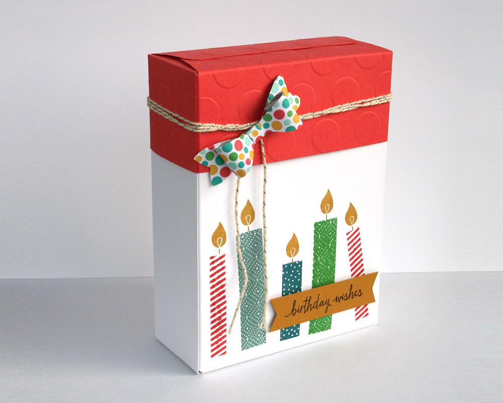 Built a Birthday Geschenkbox