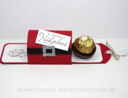 Nikolaus-Ziehverpackung auf