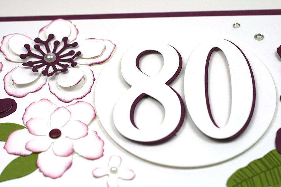 Framelits Große Zahlen 80