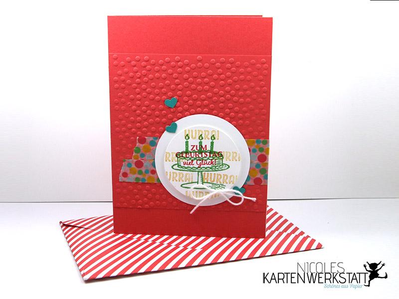 Geburtstagskarte Melonensorbet