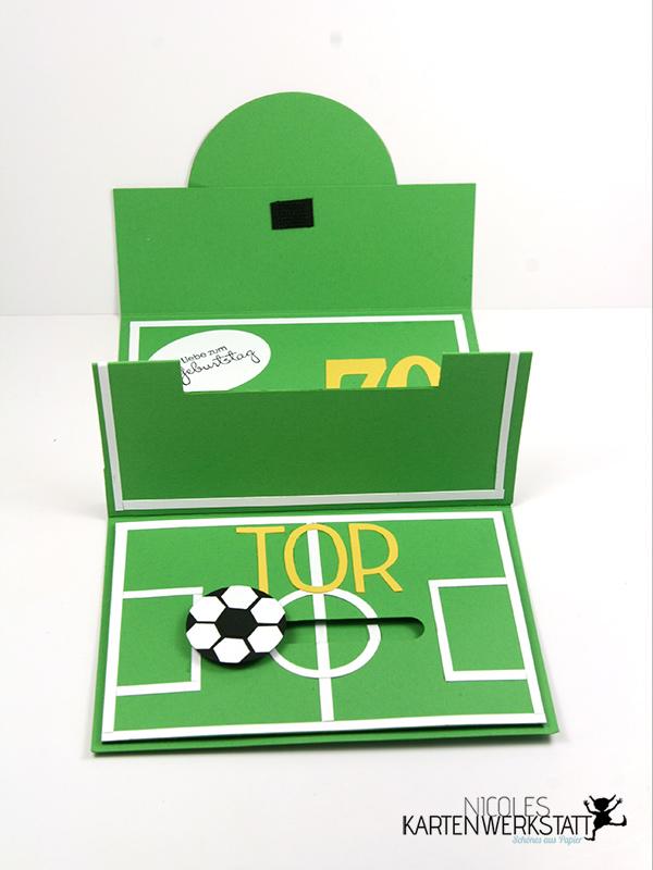 Fußball-Gutschein