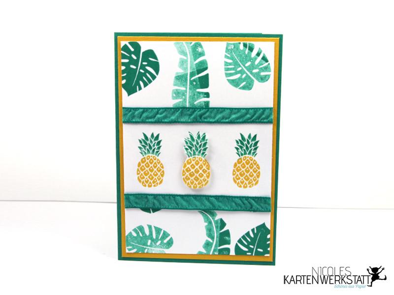 Ananas-Karte