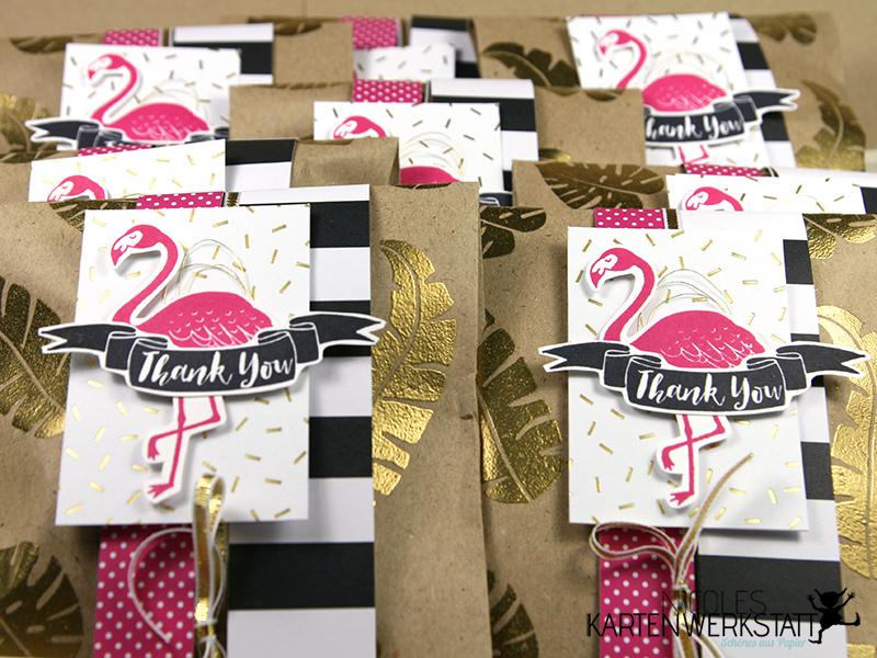 Flamingo-Tüten