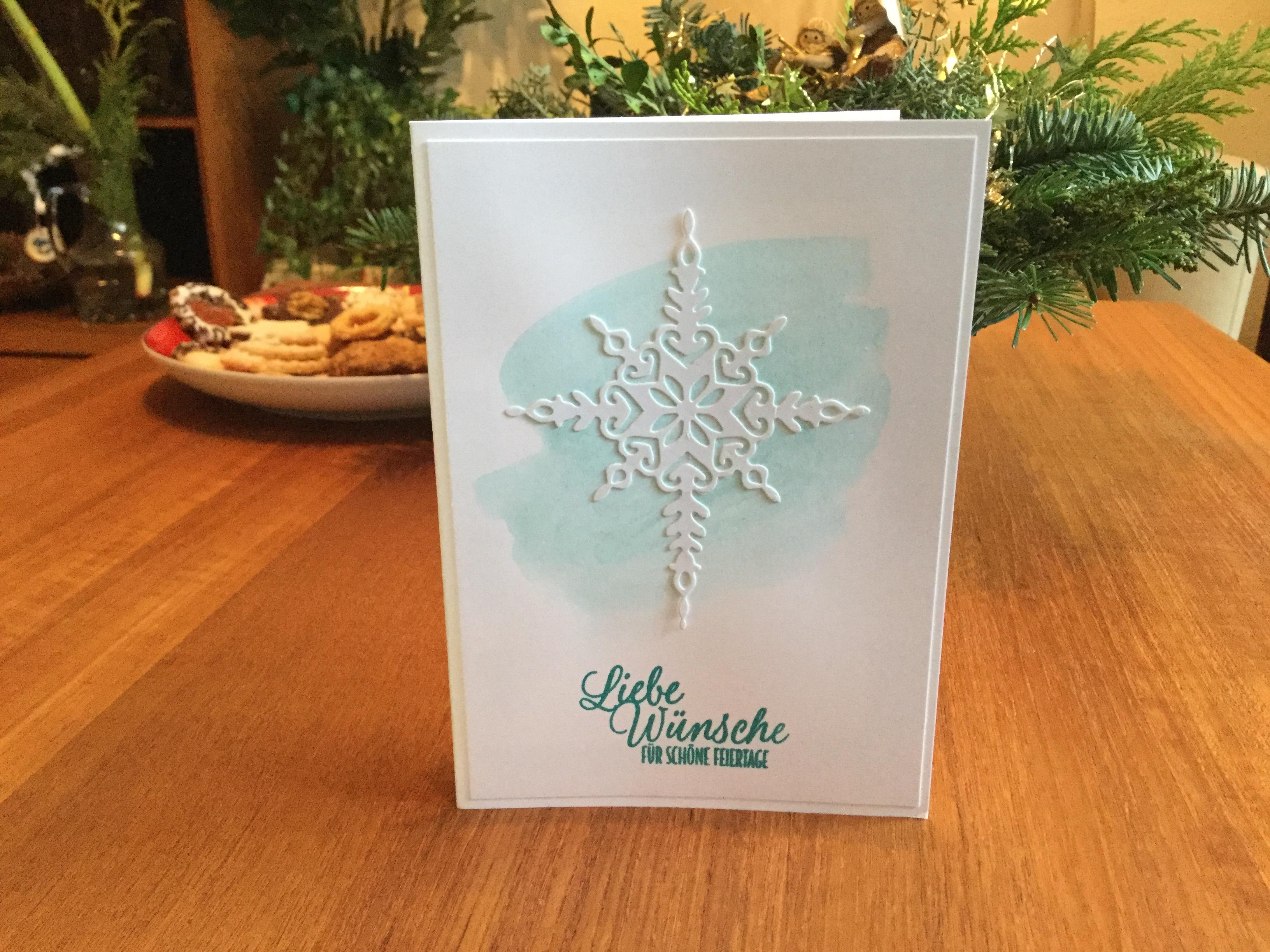 Sigrids Weihnachtskarte