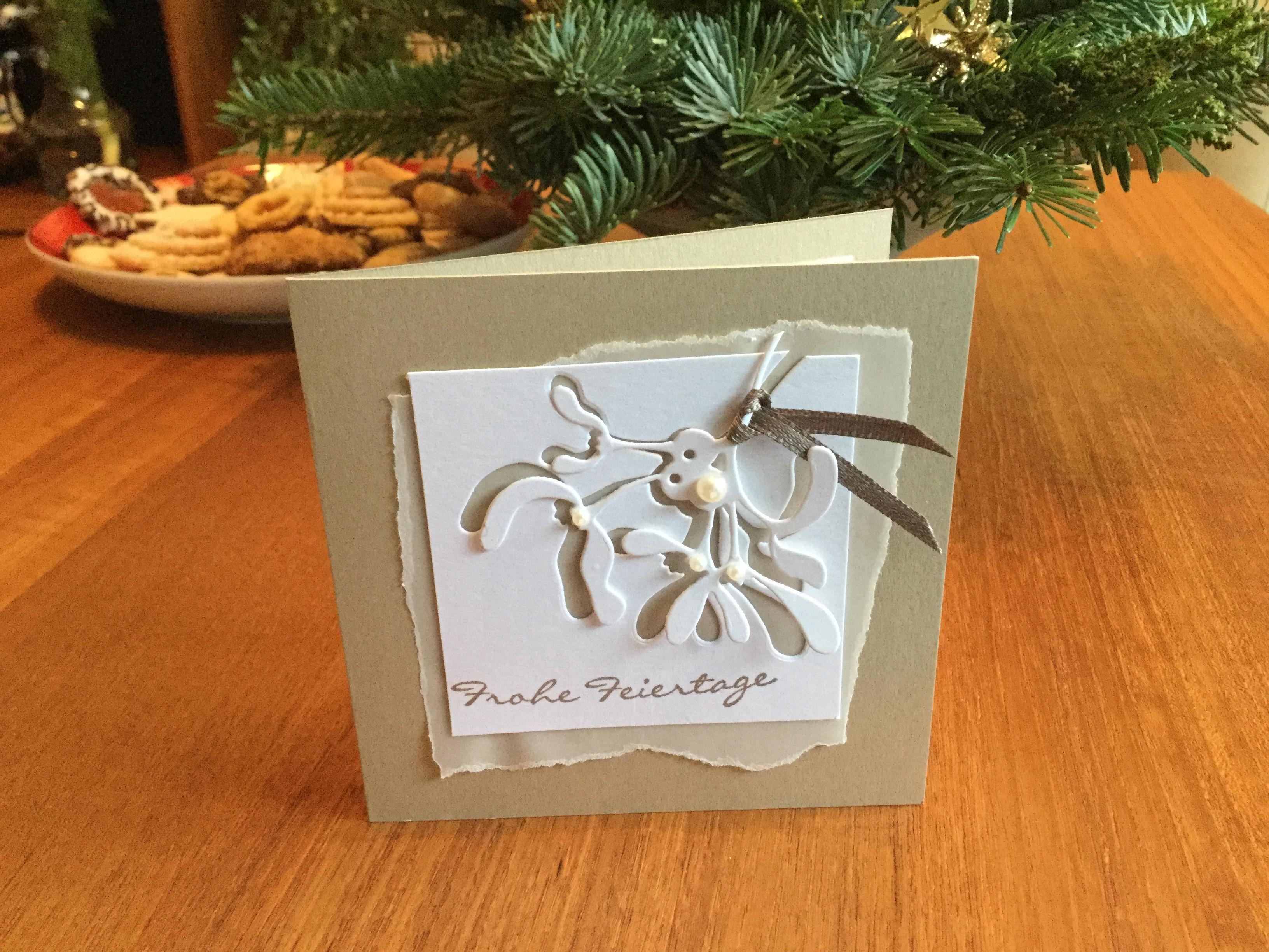 Weihnachtskarte Alexandra Renke