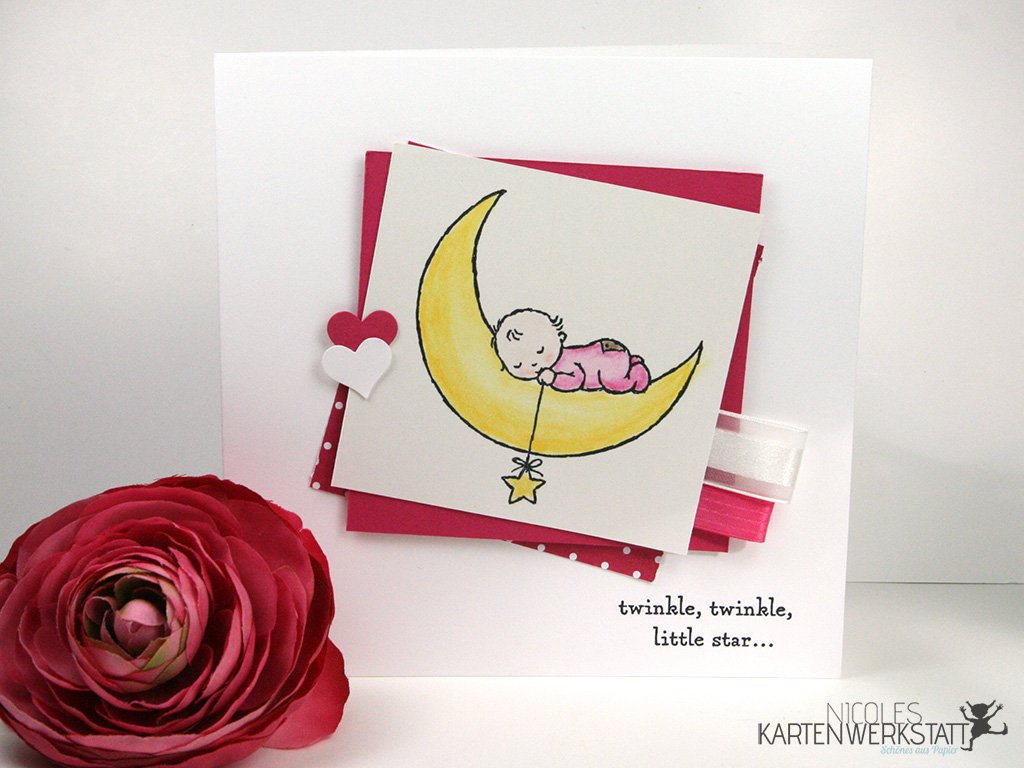 Babykarte Moon Baby