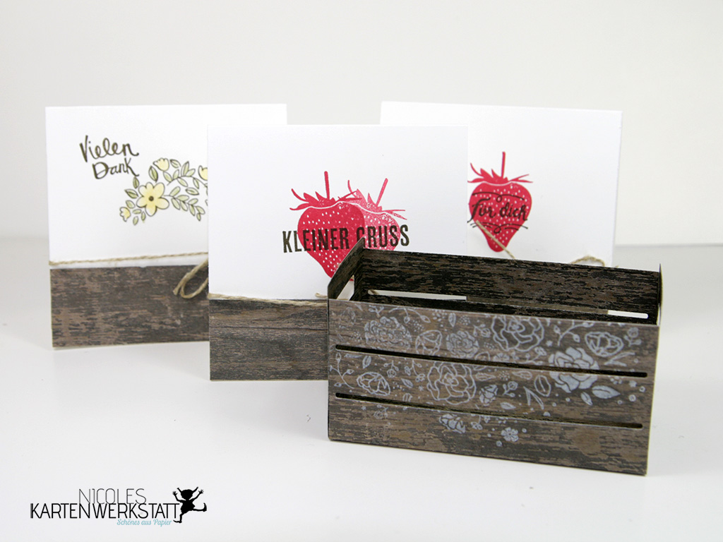 Erdbeer-Kiste-Set