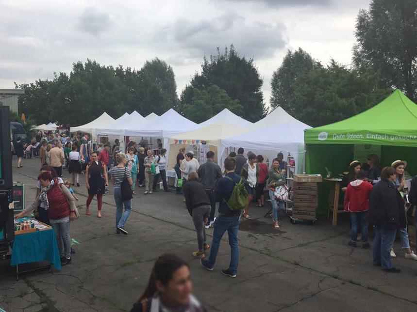 Handmademarkt im Grünen