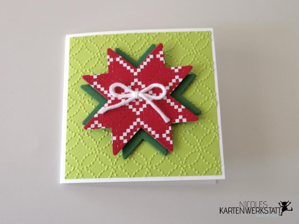Weihnachtsquilt Kärtchen 3