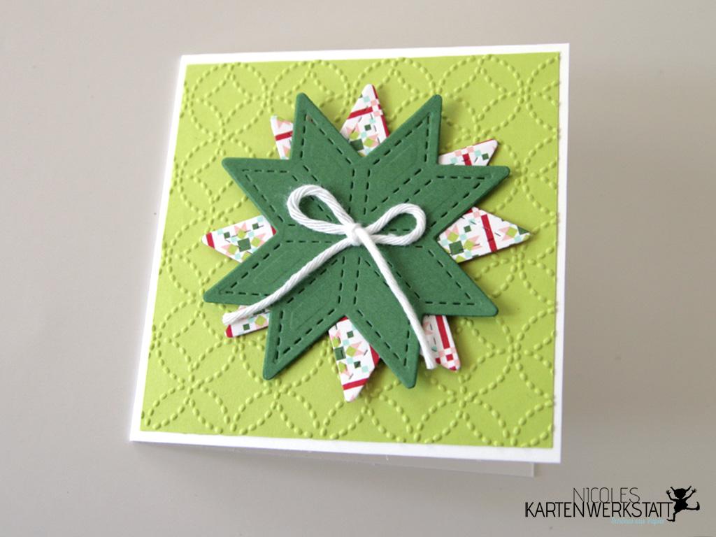 Weihnachtsquilt Kärtchen 4