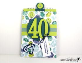 Gutschein 40 Geburtstag
