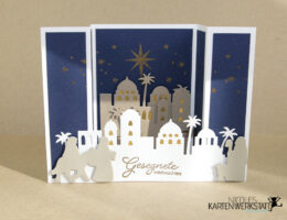 Bridge Fold Card Heilige Nacht