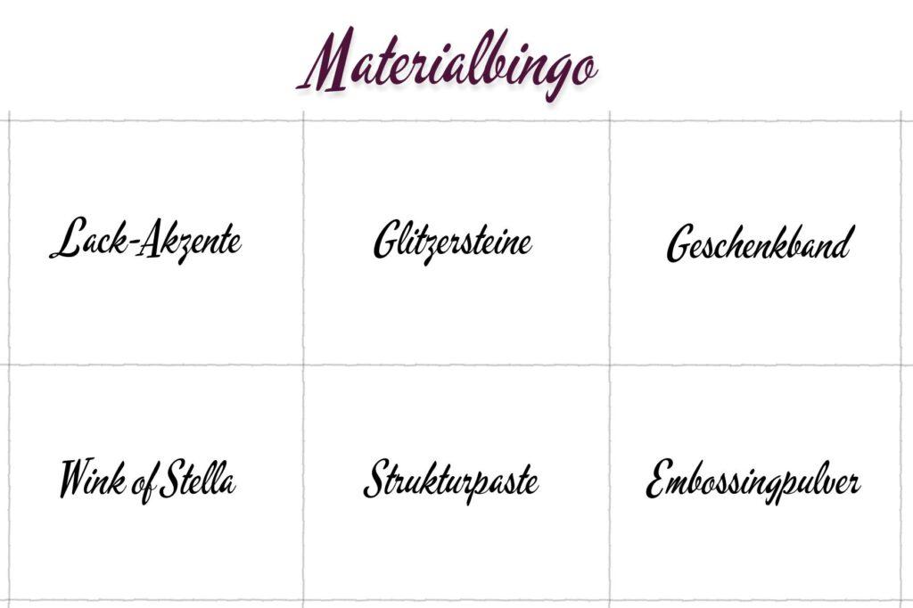 Material-Bingo