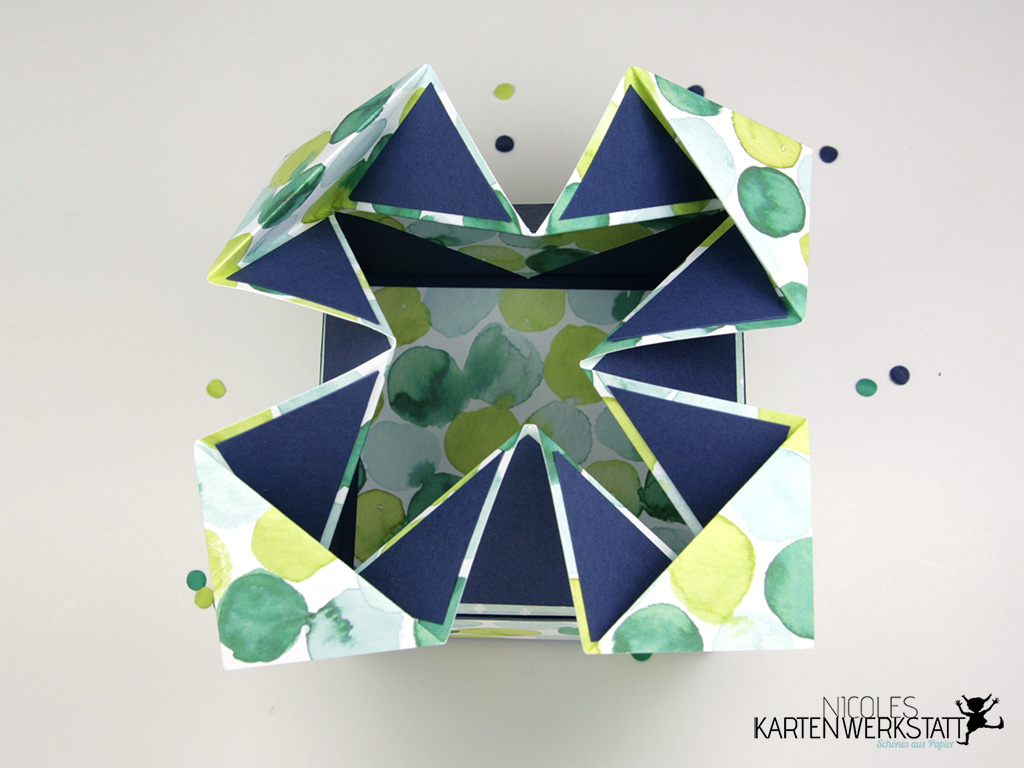Napkin Fold Box offen