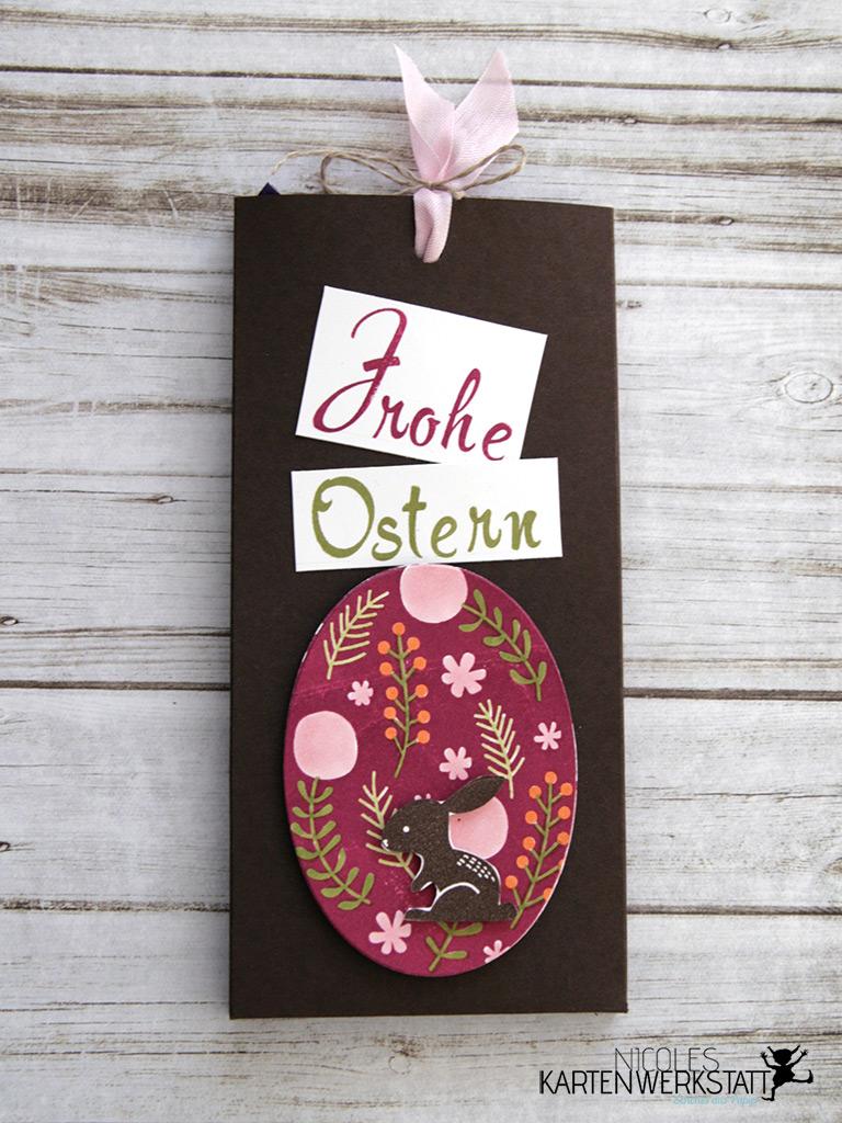 Ziehschokolade Ei Ostern