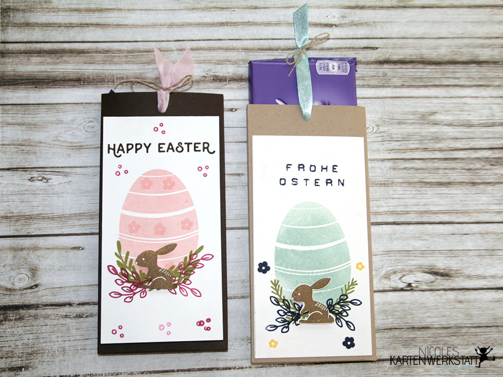 Ziehschokolade Ostern