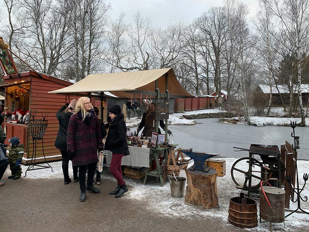 Weihnachtsmarkt in Gamla Stan