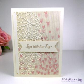 """Hochzeitskarte """"zum schönsten Tag"""""""