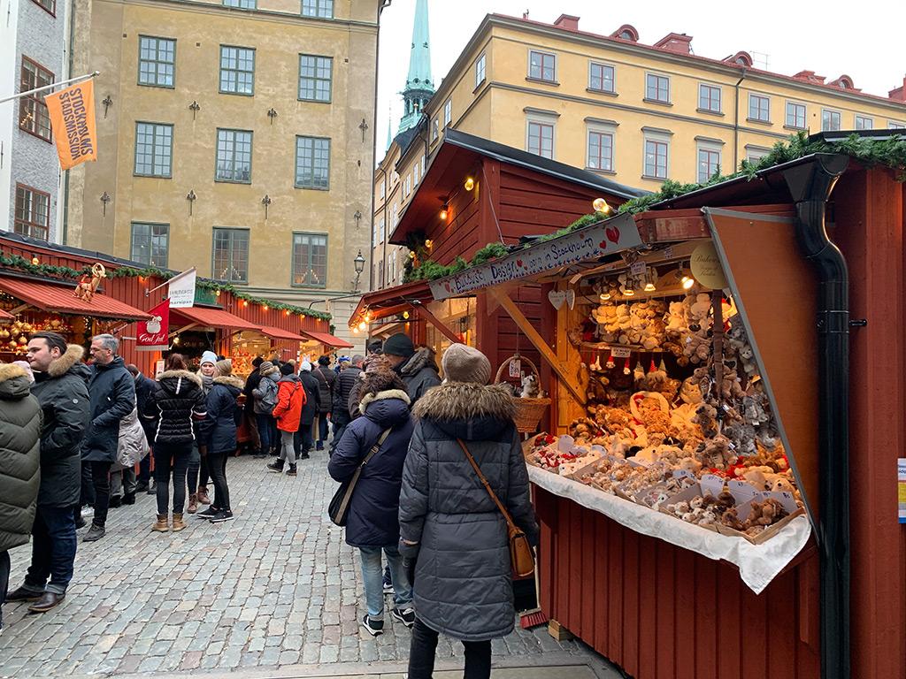 Weihnachtsmarkt Gamla Stan
