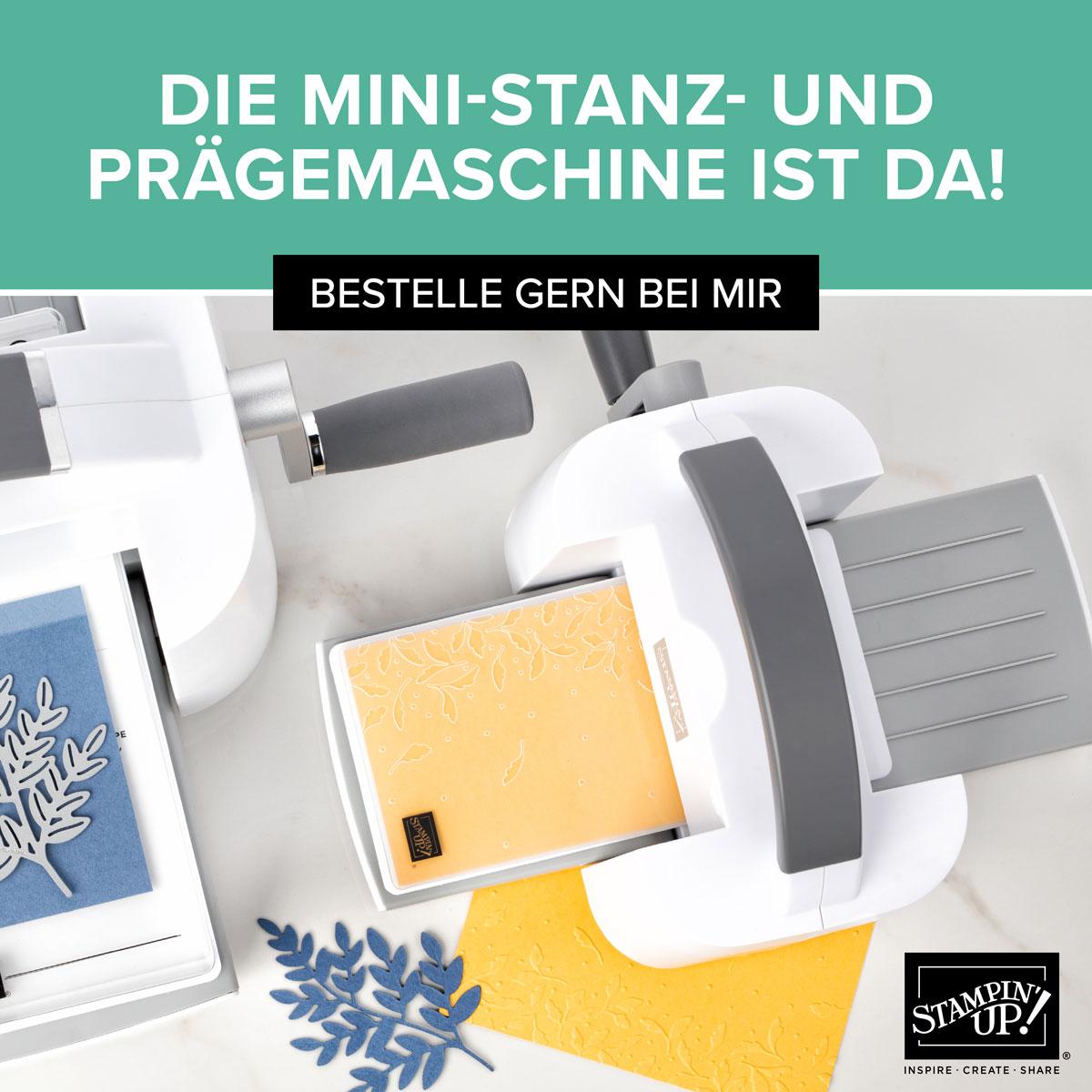 Mini Stanz- und Prägemaschine